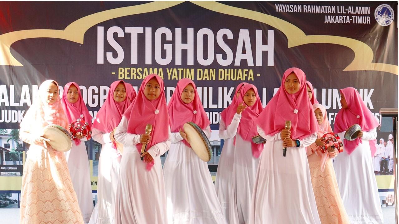 Marawis Yatim binaan Yayasan Rahmatan Lil Alamin