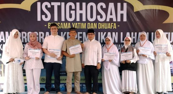 Sertifikat wakaf asrama yatim terpadu Yayasan Rahmatan Lil Alamin