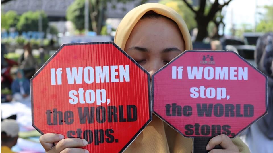 Hari Perempuan se Dunia di Aceh