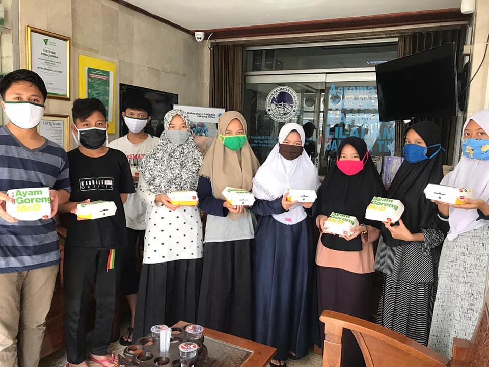 Kiriman Nasi Box Donatur