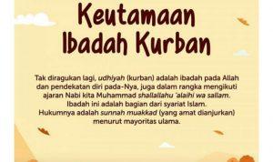 Keutamaan Qurban