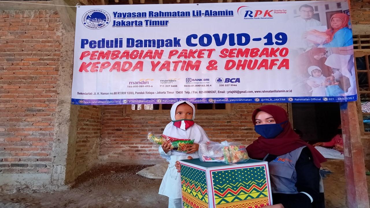 Rahmatan Peduli Pandemi Corona _ Yayasan anak yatim di Jakarta