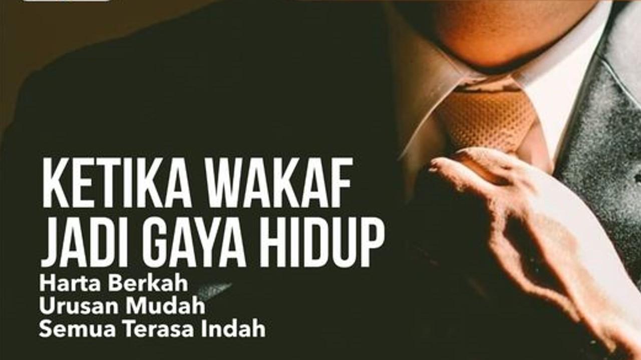 Wakaf di Yayasan anak yatim di Jakarta.