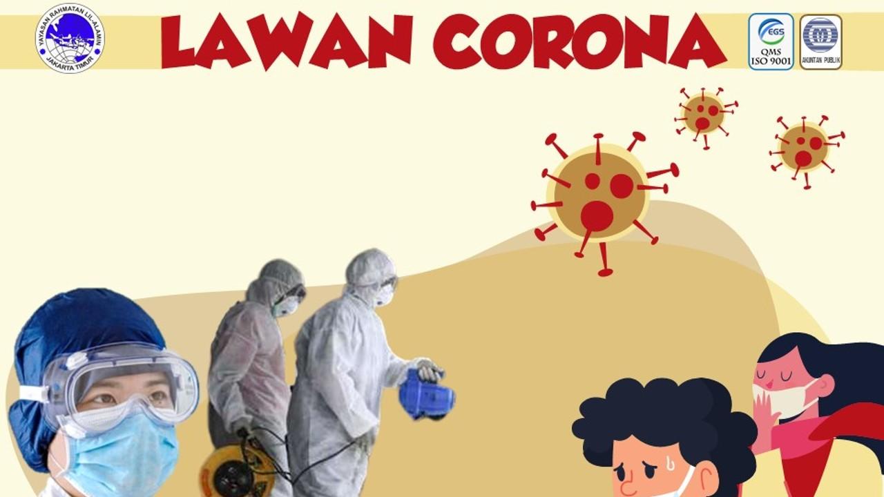 Lawan Corona - Yayasan Rahmatan Lil Alamin