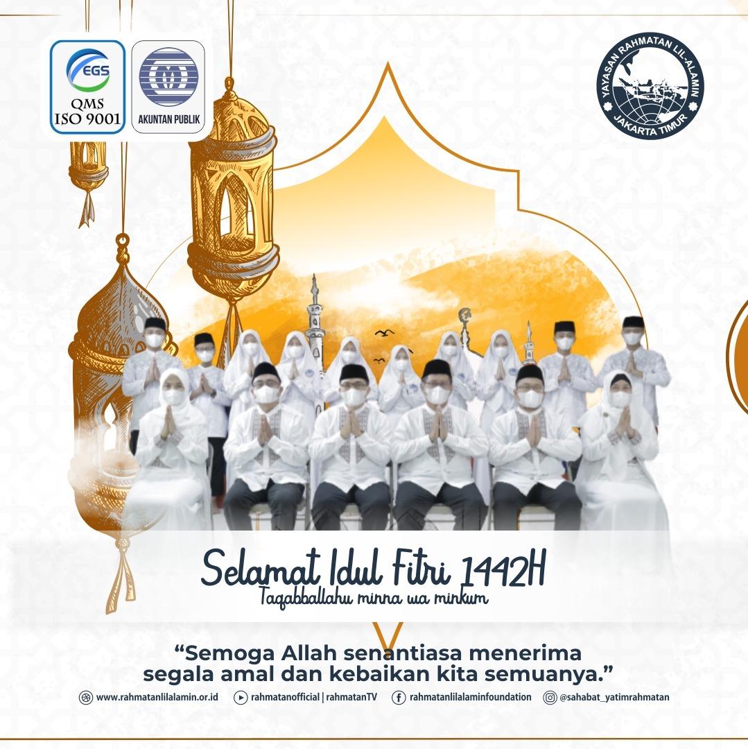 Selamat Idul Fitri - Yayasan anak yatim di Jakarta